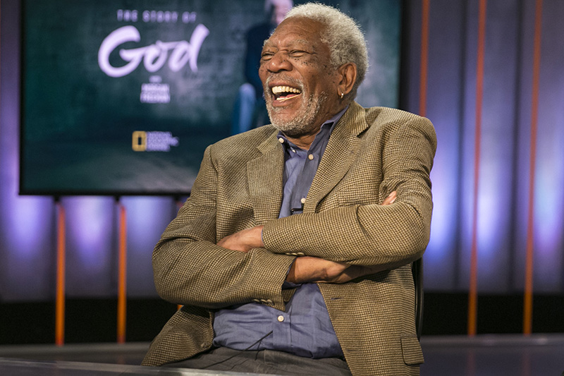 Yahoo Global Correspondent Bianna Golodryga interviews Academy Award winning actor Morgan Freeman