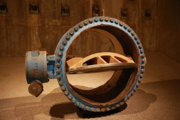 Part of a pipeline that carried water from the Hudson River to an underground refrigeration plant, this 17, 800-pound valve was installed in 1993 in connection with an upgrade to the World Trade Center's air-conditioning systems. The subterranean motorized valves could be closed manually for maintenance and in case of emergency. After the collapse of the Twin Towers, engineers concerned about the risk of flooding searched for valves underneath the wreckage and closed them as a precautionary measure. (Photo: Gordon Donovan/Yahoo News)