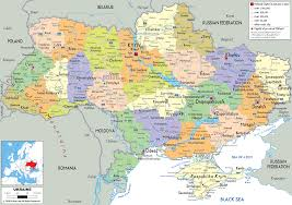 Photo Ukraine map