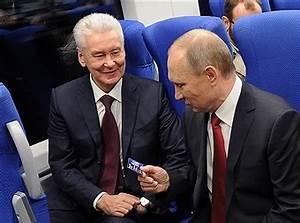 Sobyanin Putin S Successor Russian Eurasian Politics