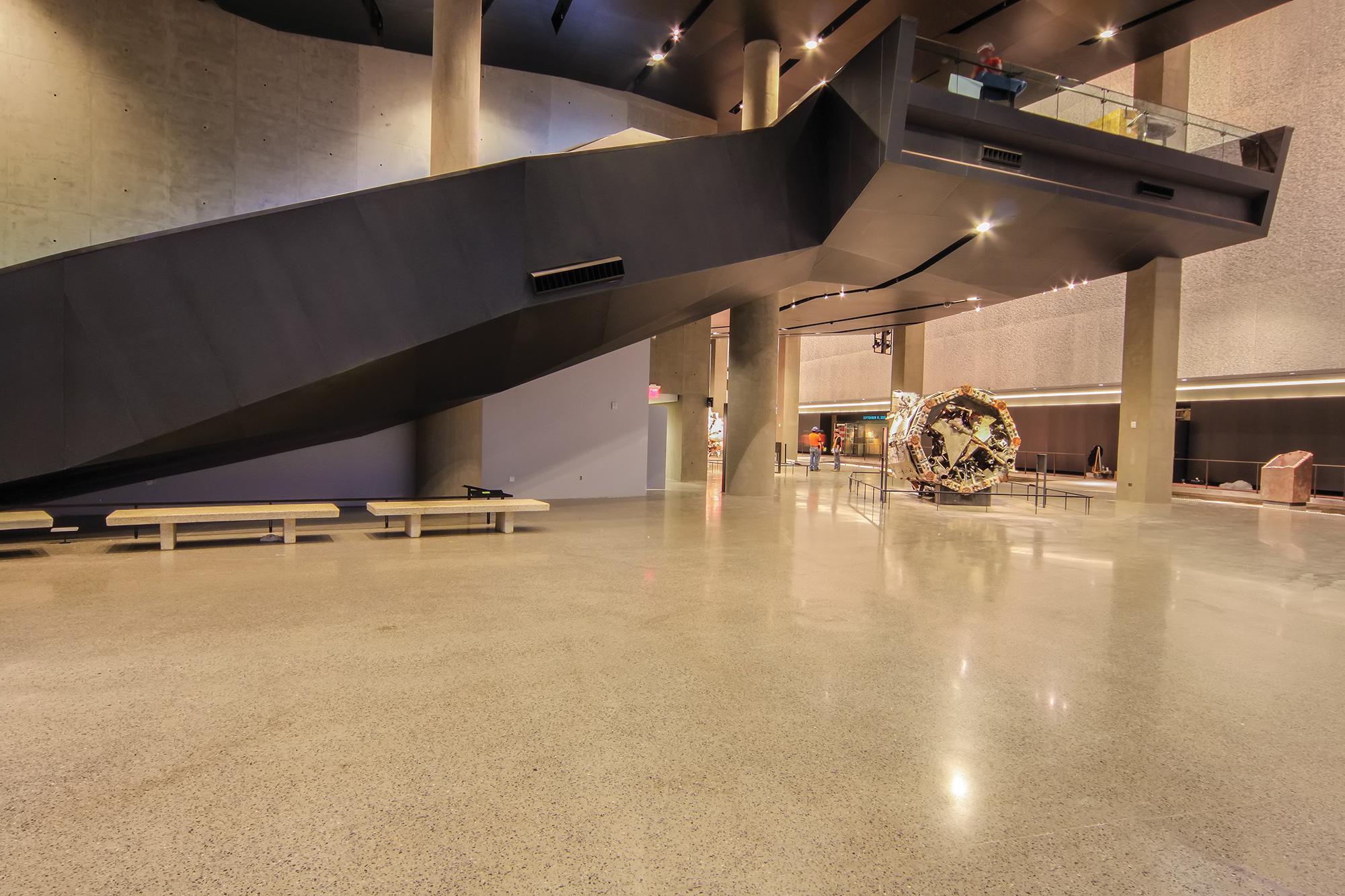 Ceilings & Walls  9/11 Memorial Museum