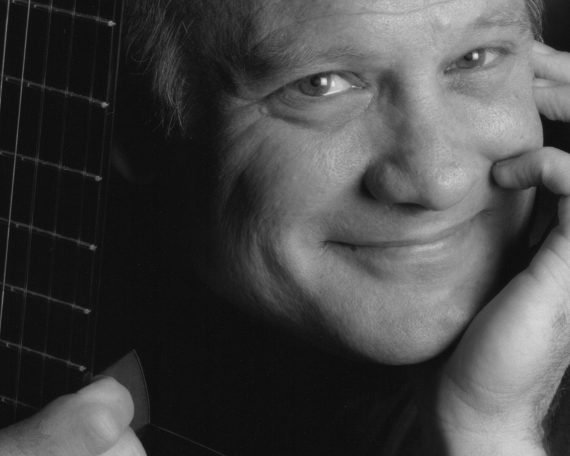 Classical guitarist Gordon Kreplin