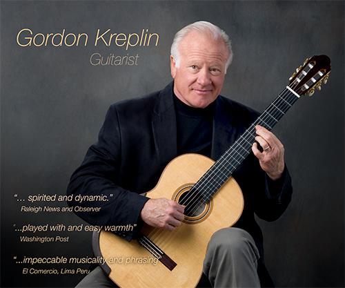 Gordon Kreplin music career poster