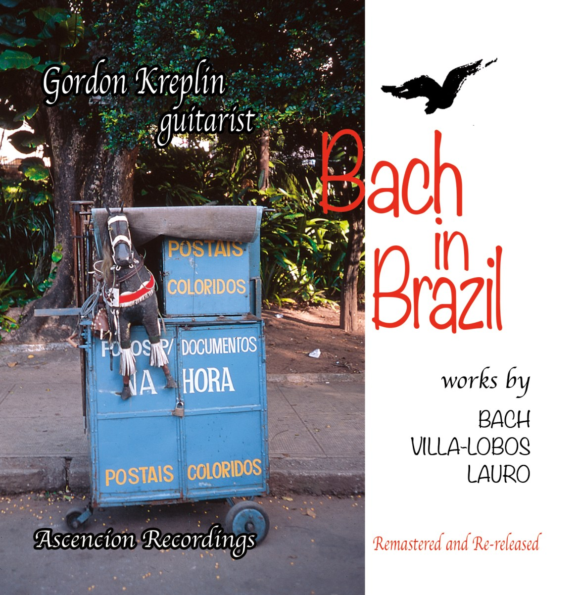 Front jacket cover for Bach and Brazil CD