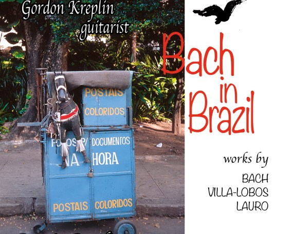 Front jacket cover for Bach in Brazil CD