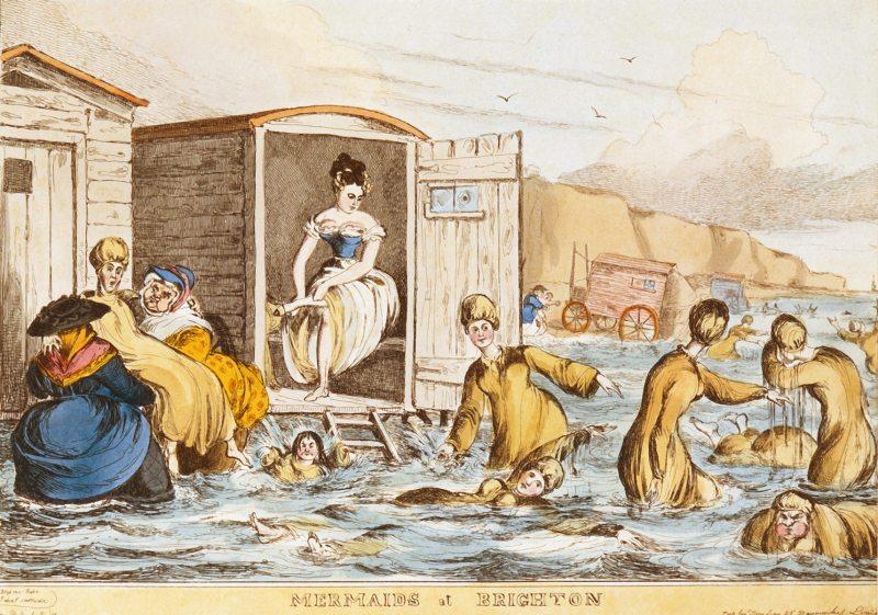 Mermaids at Brighton 1829