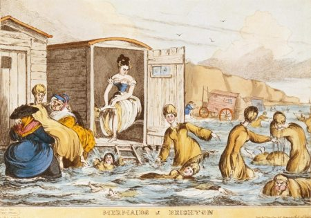Mermaids at Brighton 1829