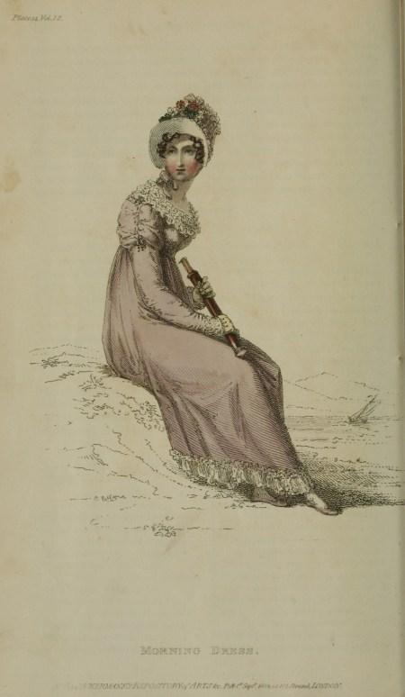 Telescope - 1814 v12 Ackermann's fashion plate 14 - Morning Dress