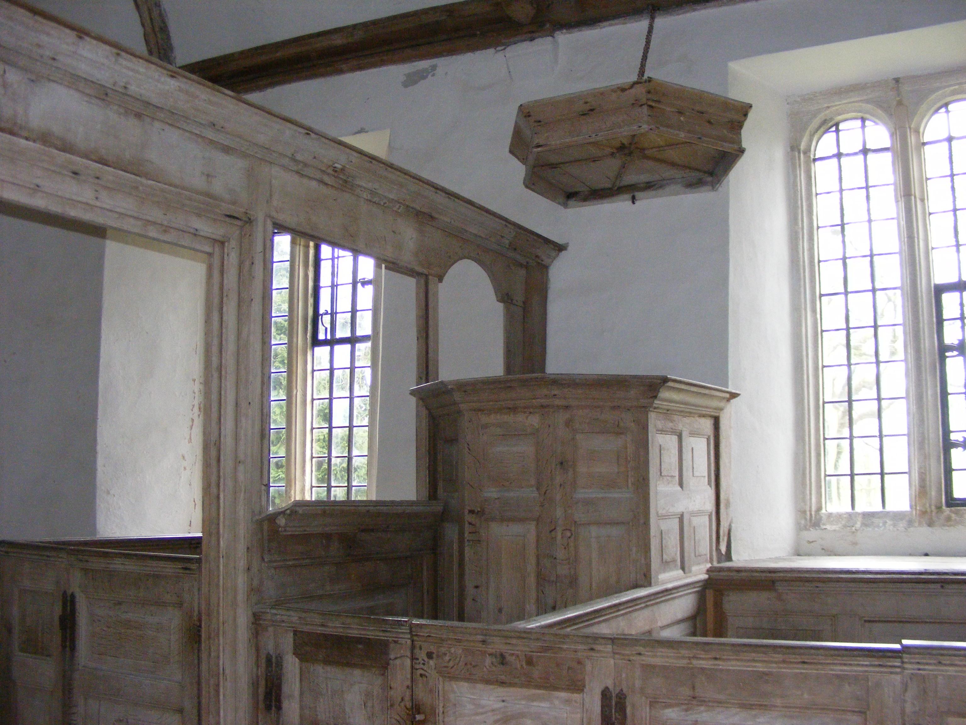 Winterborne Tomson, St Andrew, pulpit
