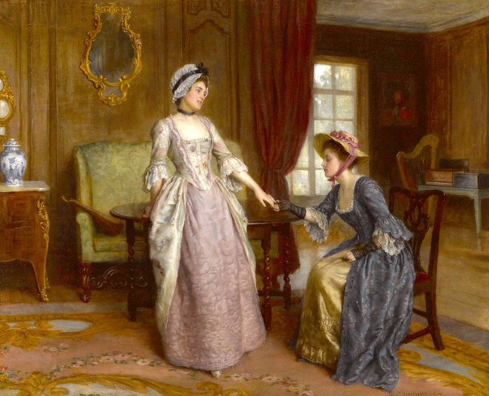 2 Charles Haigh Wood - The Engagement