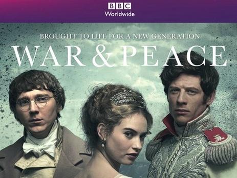Британский BBC One начал показ 6-серийного фильма по «Войне и миру»