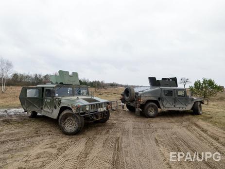 США продолжат поставки Украине джипов приборов ночного видения беспилотников и других нелетальных видов вооружения