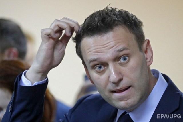 Российский оппозиционер Алексей Навальный. Фото: ЕРА