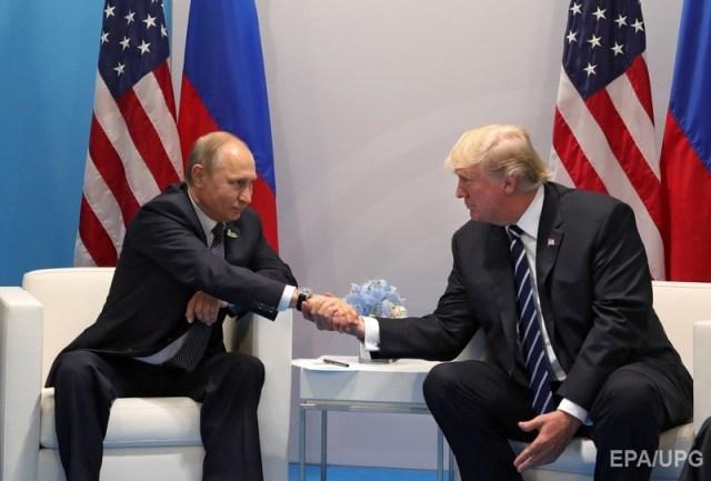 Путин и Трамп на саммите G20 в Гамбурге. Фото: ЕРА