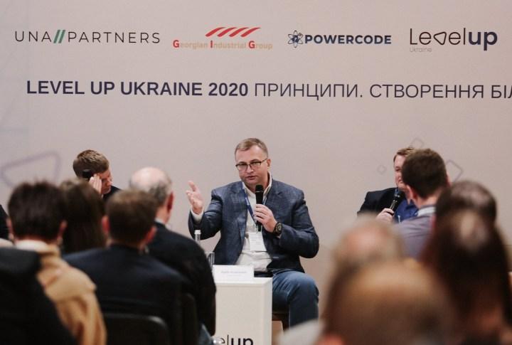 Атаманюк: Фото: Level UP Ukraine / Facebook