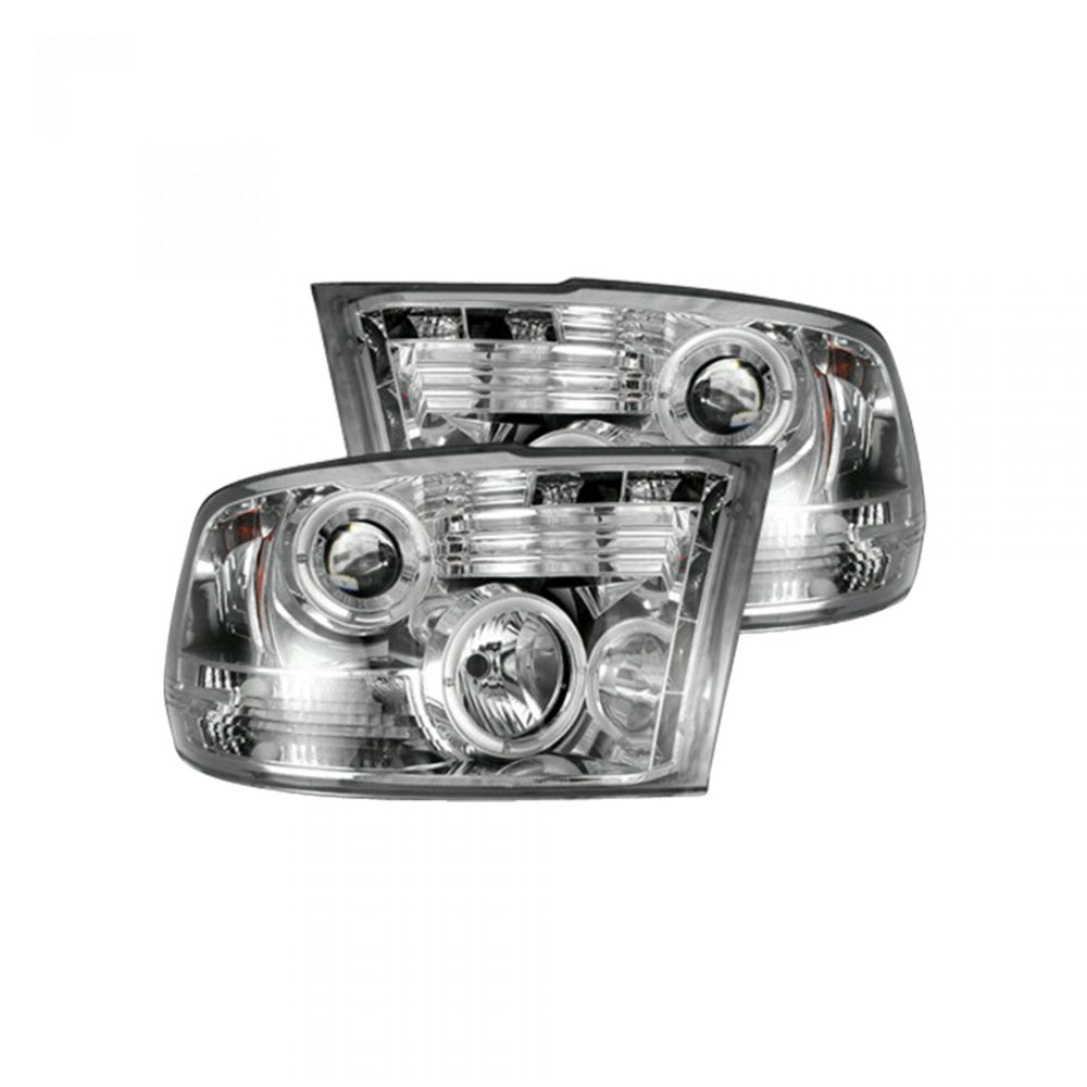 medium resolution of recon 264270cl dodge ram 09 19 1500 10 19 2500 3500 projector headlights clear chrome