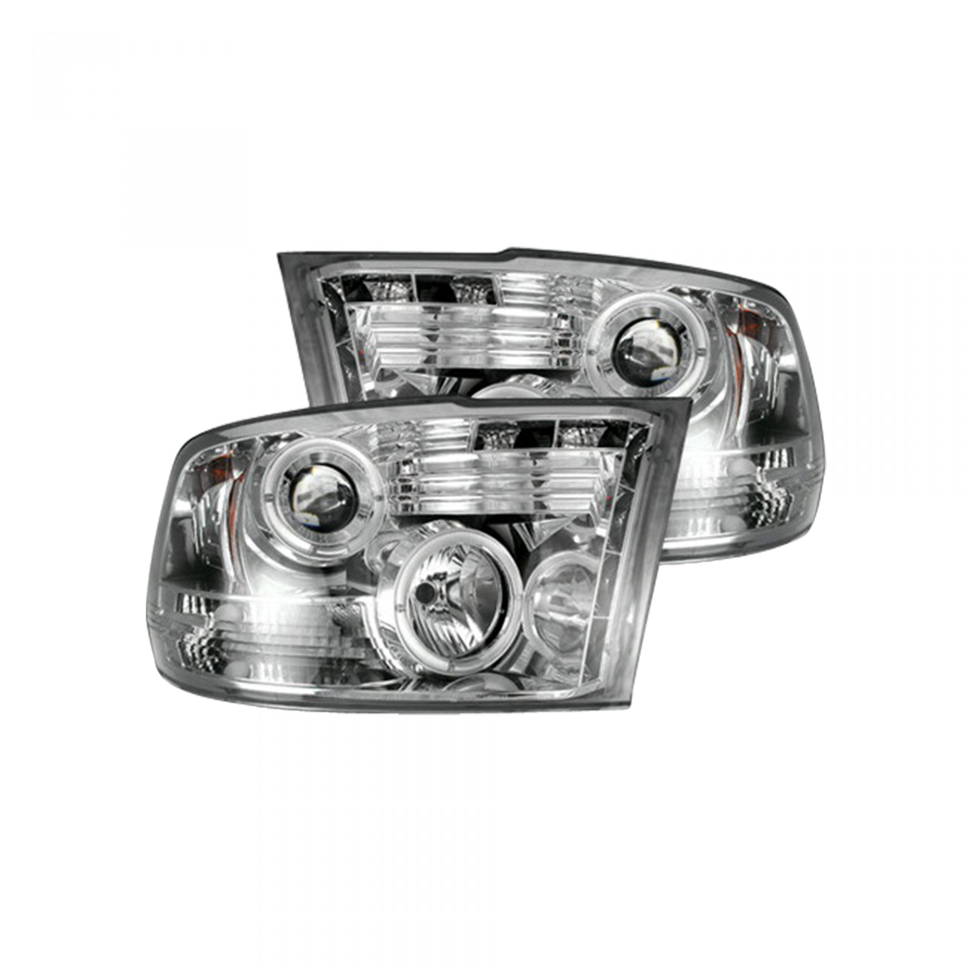 hight resolution of recon 264270cl dodge ram 09 19 1500 10 19 2500 3500 projector headlights clear chrome