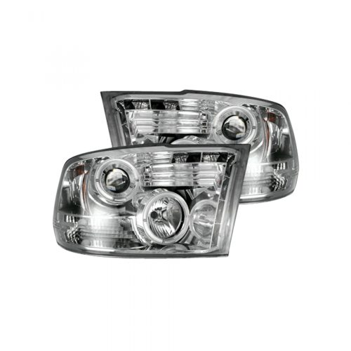 small resolution of recon 264270cl dodge ram 09 19 1500 10 19 2500 3500 projector headlights clear chrome