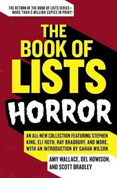Cover for The Book of Lists: Horror