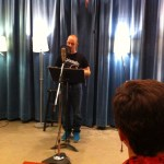 Evan Peterson reads at Jack Straw Center