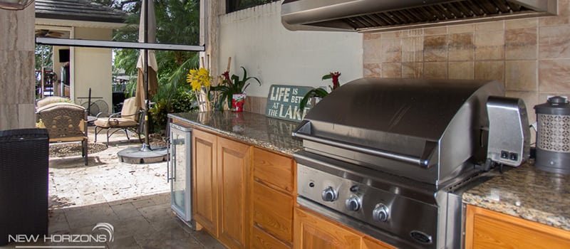 outdoor kitchens orlando kitchen wall cabinet remodel fl new horizons in florida