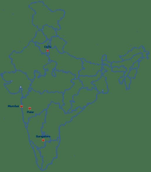 Bangalore India Map