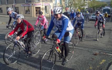 Gorey Cycling Club First Official Club Spin - Nov 9th 2014