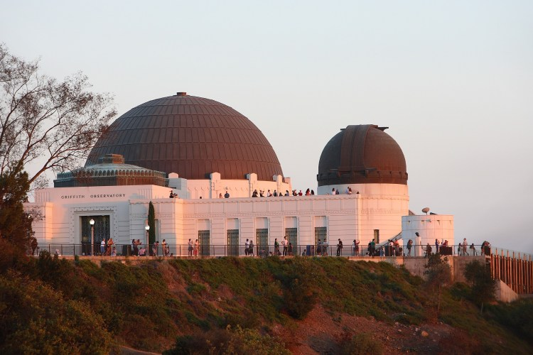 Griffith Observatory, Film site of Rebel Without a Cause