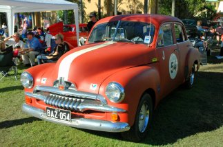 Car 54, where are you? An FJ Holden, produced between 1953 and 1956.