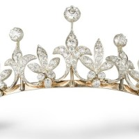 An Exquisite Late Victorian Diamond Tiara circa 1890