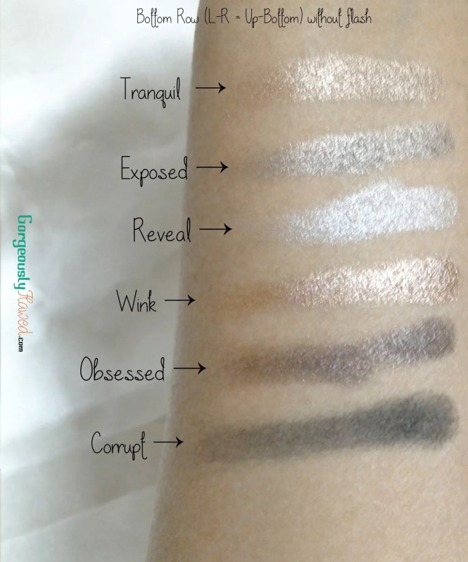 Review & Swatches | Makeup Academy Undress Me Too Eye Shadow Palette | Urban Decay Naked 2 Dupe | MUA Undress Me Too Eye Shadow Palette