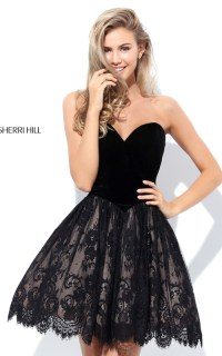 2016 Sexy Prom Gown: Sexy Short Sherri Hill Homecoming ...