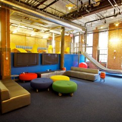 Colored Sofas Kartell Sofa Largo Modern Offices Borrow A Page From Playgrounds - Goric ...