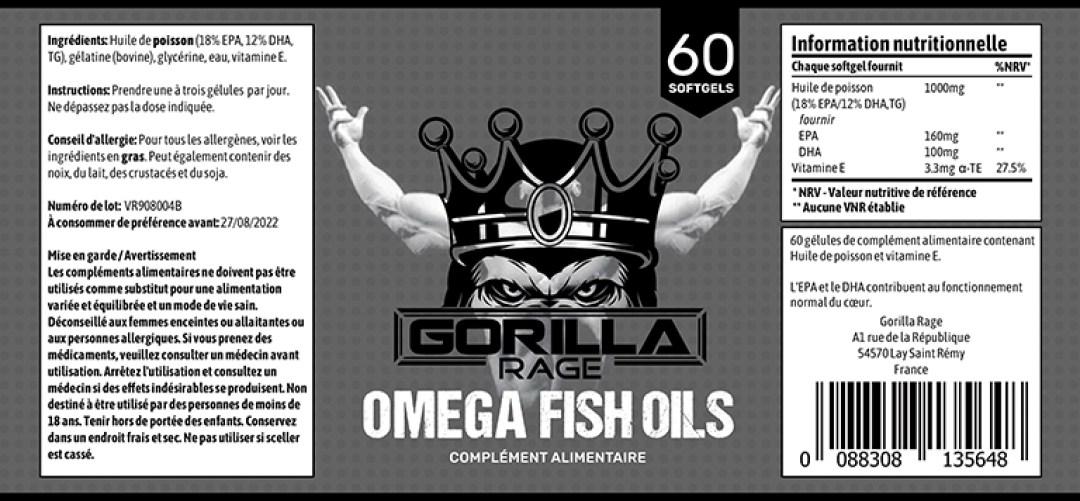 Omega 3 pour la musculation