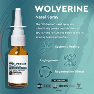Injury Healing Wolverine Nasal Spray 500