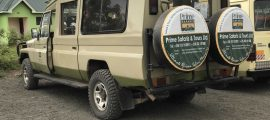 4×4 Safari Land cruiser – Extended for Hire Carries - [1-7 PEOPLE]