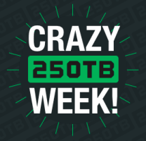 Crazy 250TB Week!
