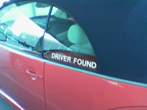 Driver found