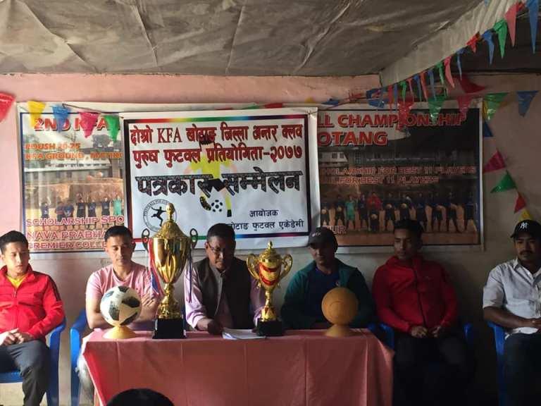 Khotang Football Academy 2nd Inter Club football Championship 2077