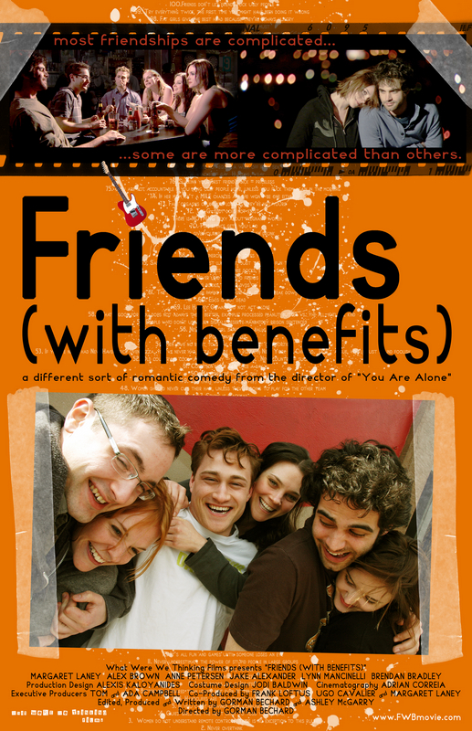 Friends (with benefits) movie poster