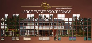 Large Estate Proceedings