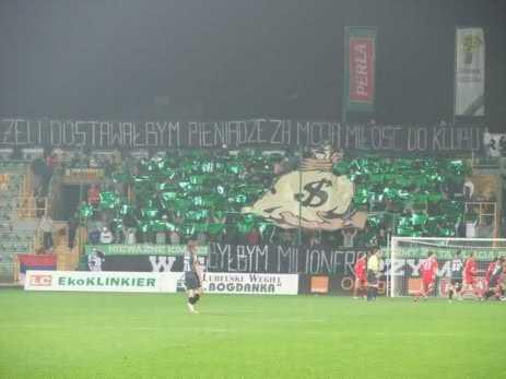 GÓRNIK ŁĘCZNA - Widzew Łódź 2006r.