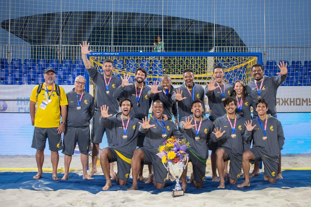 Handball | Brazil |IHF | Men's and Women's Beach Handball World Championships, Russia — Kazan 24-29 July 2018