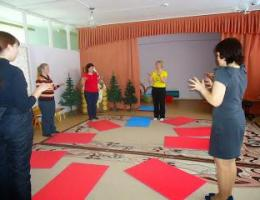 Стажёрская площадка «Физкультурные занятия с сюжетной линией построения».