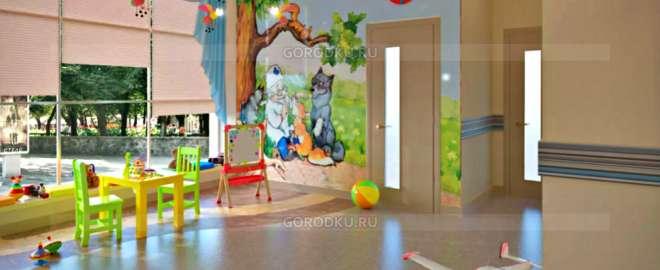 ДГБ Каменска-Уральского обустроила игровые площадки в четырёх поликлиниках города
