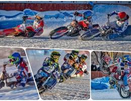 Спортсмены открыли сезон мотогонок на льду 2020 – 2021 в Каменске-Уральском!