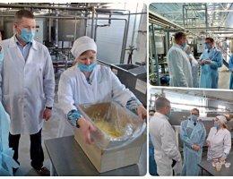 Молочный завод «Олимпийская ферма» в Каменске-Уральском продолжает развиваться используя инструменты муниципальной и государственной поддержки