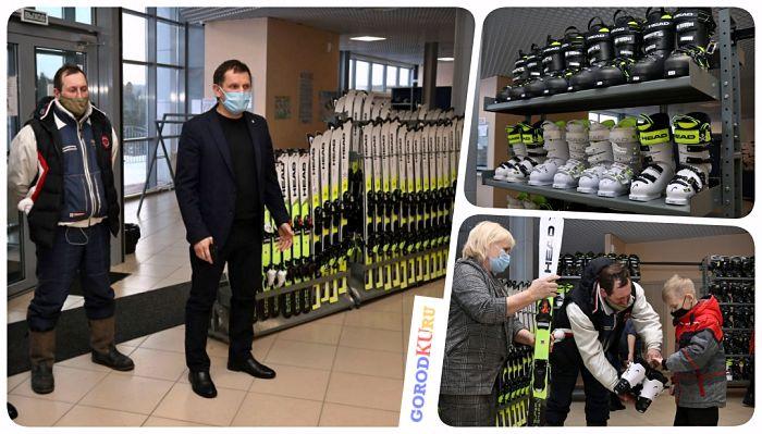Новый современный инвентарь для спортивной школы Каменска-Уральского