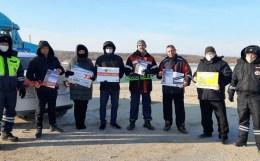 Тюменские автоинспекторы информируют автомобилистов об опасных участках дорожного ремонта на трассах