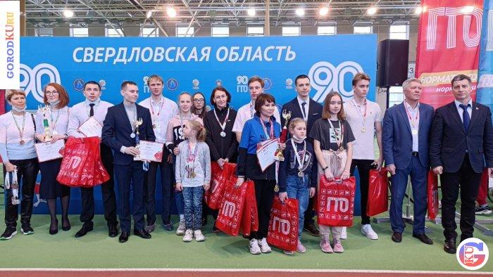 Ирина Мамонова — абсолютный победитель фестиваля Всесоюзного комплекса ГТО